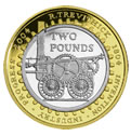 Uk 2 pound coin
