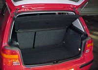 car boot typical size 200 to 500 litres