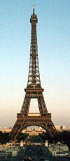 Eiffel Tower in Paris is 300 metres high