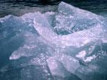 Ice is water below zero degrees Celsius